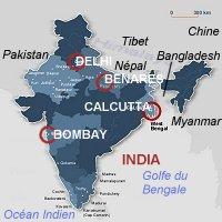 Carte Inde Calcutta.Kamal Ke Dil Ke Lie